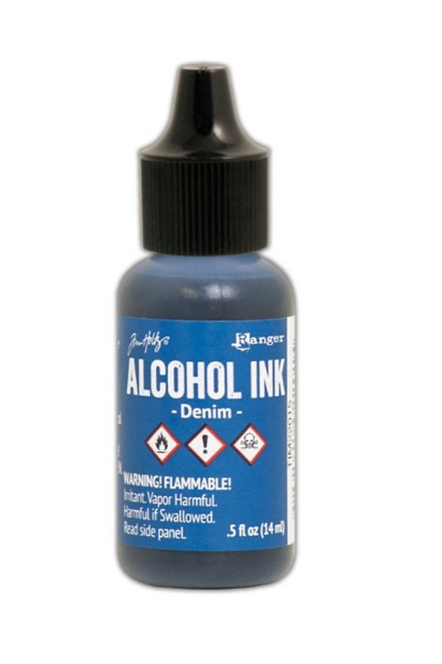 ALCOHOL INK - DENIM