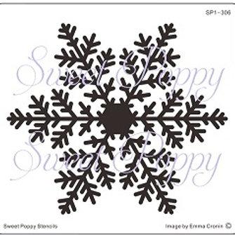 Snowflake Stencil by Sweet Poppy