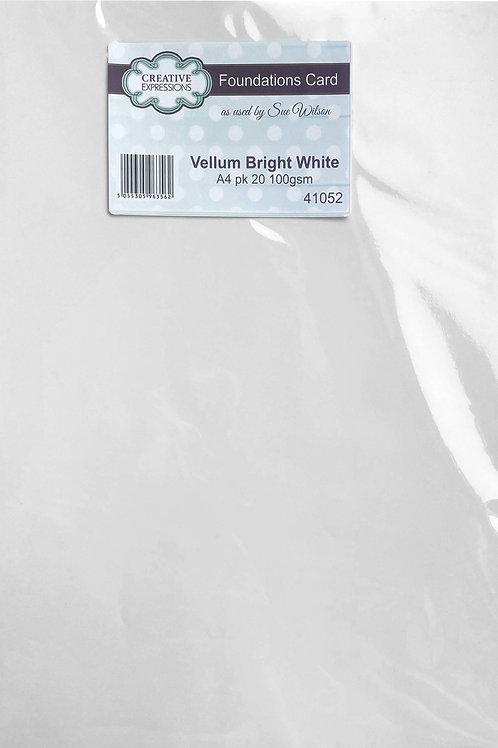 Foundations Vellum Bright White