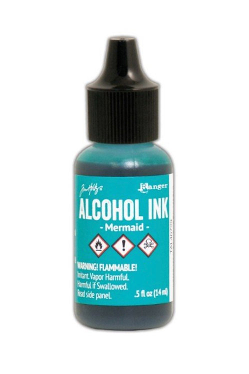 ALCOHOL INK - MERMAID