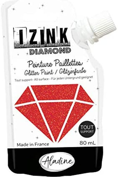 RED IZINK DIAMOND PAINT POUCH