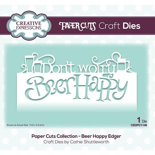 Beer Happy Paper Cuts Edger Die