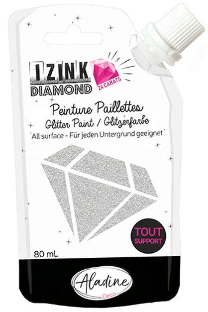 SILVER - IZINK DIAMOND PAINT POUCH
