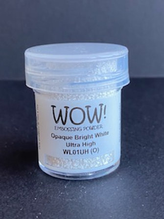 Embossing Powder - Opaque Bright White Ultra High