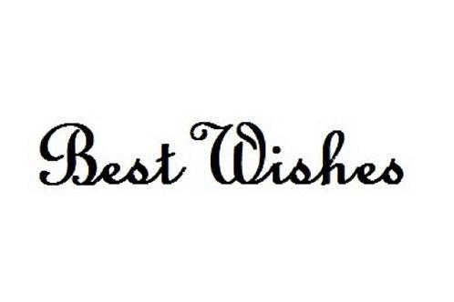 BEST WISHES DIE