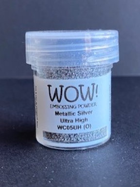 Embossing Powder - Metallic Silver Ultra High