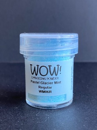 Embossing Powder - Pastel Glacier Mint Regular