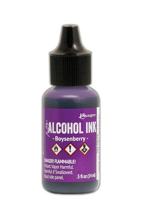 ALCOHOL INK - BOYSENBERRY