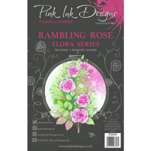 Rambling Rose Stamp by Pink Ink