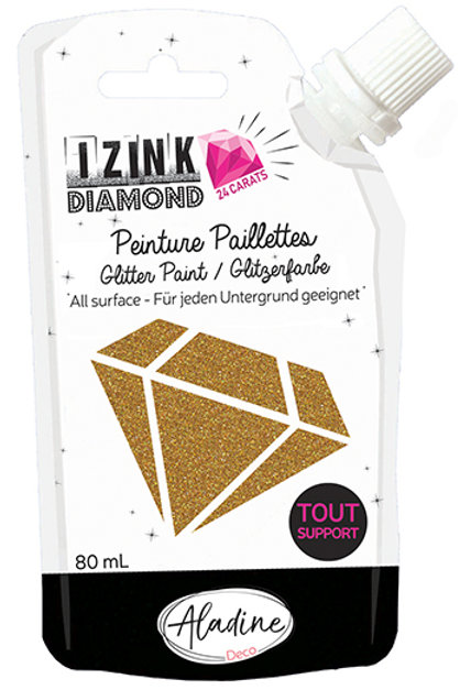 GOLD - IZINK DIAMOND PAINT POUCH
