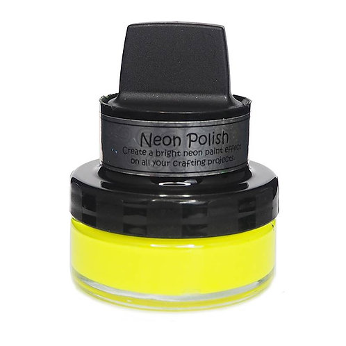 Happy Yellow Neon Polish by Cosmic Shimmer