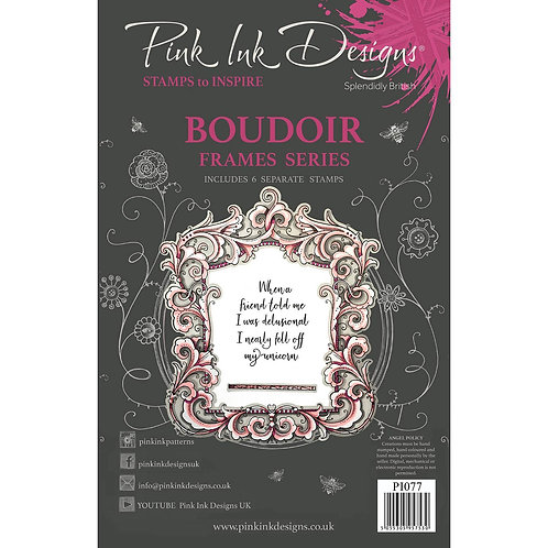 Boudoir Stamp by Pink Ink