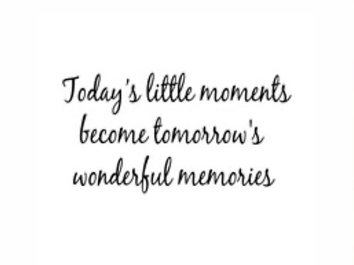 Little Moments Sentiment Stamp by Woodware