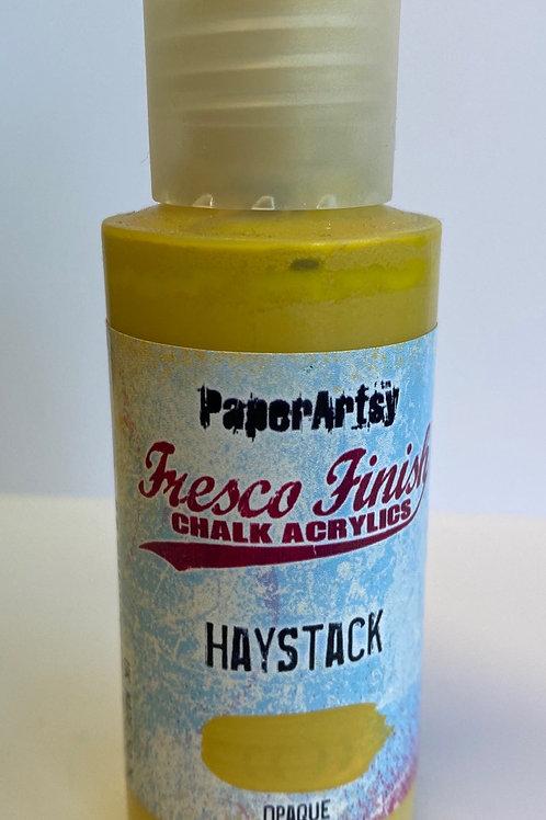 Haystack Paint by PaperArtsy