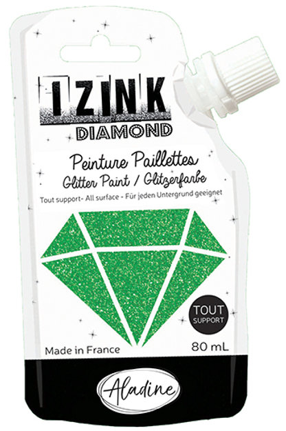DARK GREEN - IZINK DIAMOND PAINT POUCH