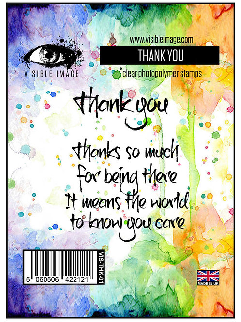 Thank You Stamp - Visible Image