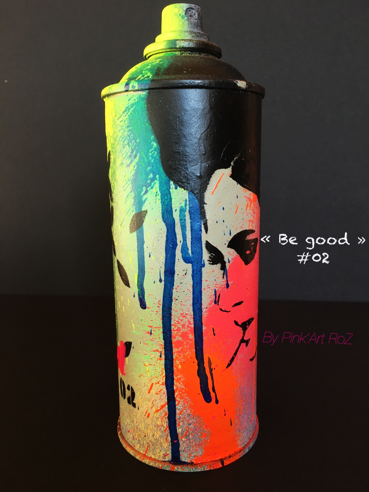02 SPRAY BE GOOD PINKARTROZ