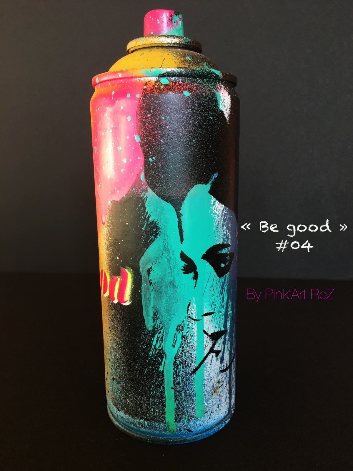 04 SPRAY BE GOOD PINKARTROZ