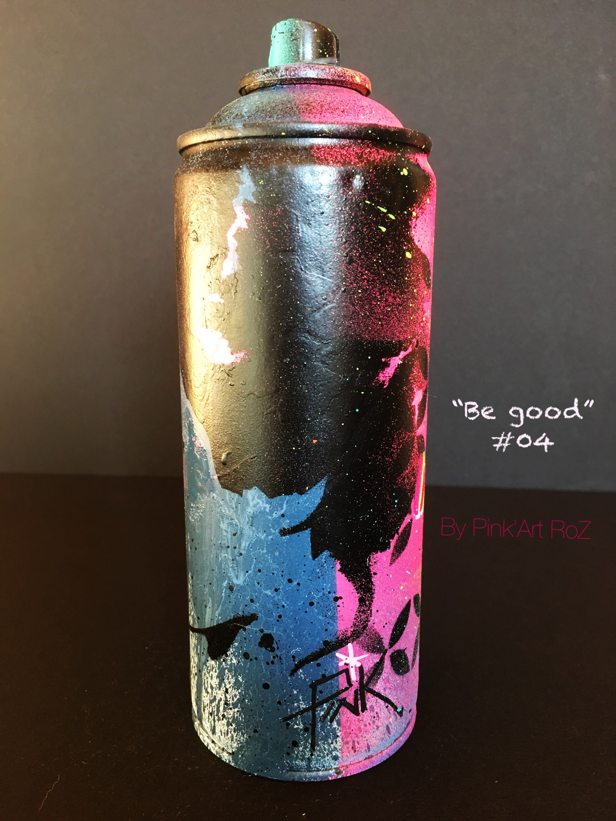 04 SPRAY BE GOOD 3 PINKARTROZ
