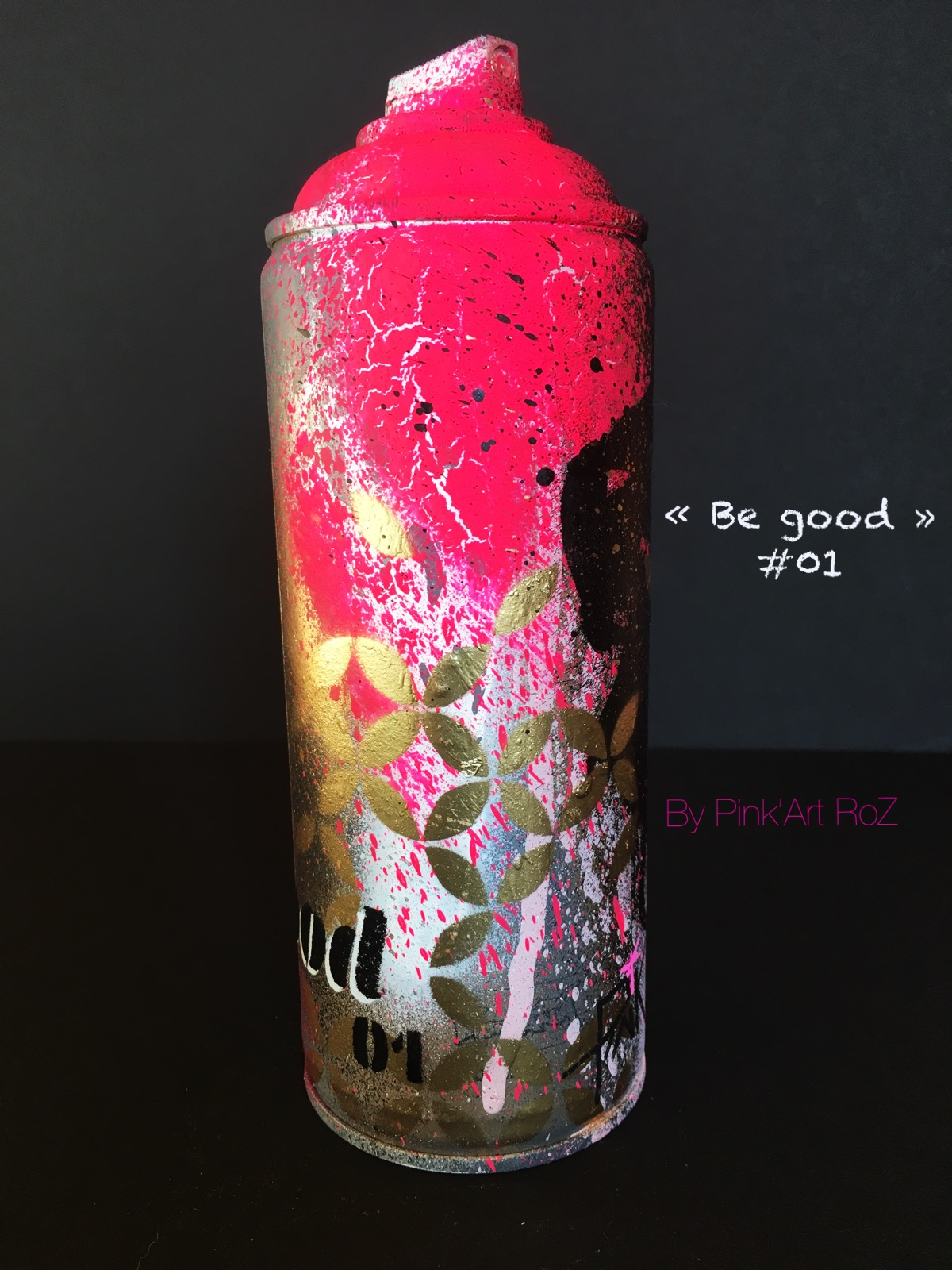 01 SPRAY BE GOOD 2 PINKARTROZ