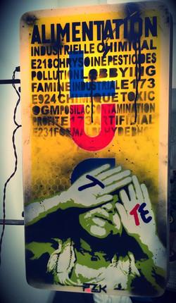 TOXIC allumé PINKART RoZ