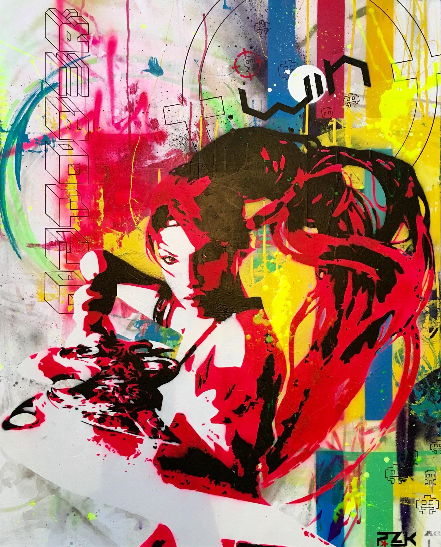 THE BATTLE OF WARRIOR RHOMER by Pink'Art RoZ