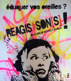 Affiche Réagis-son[s]