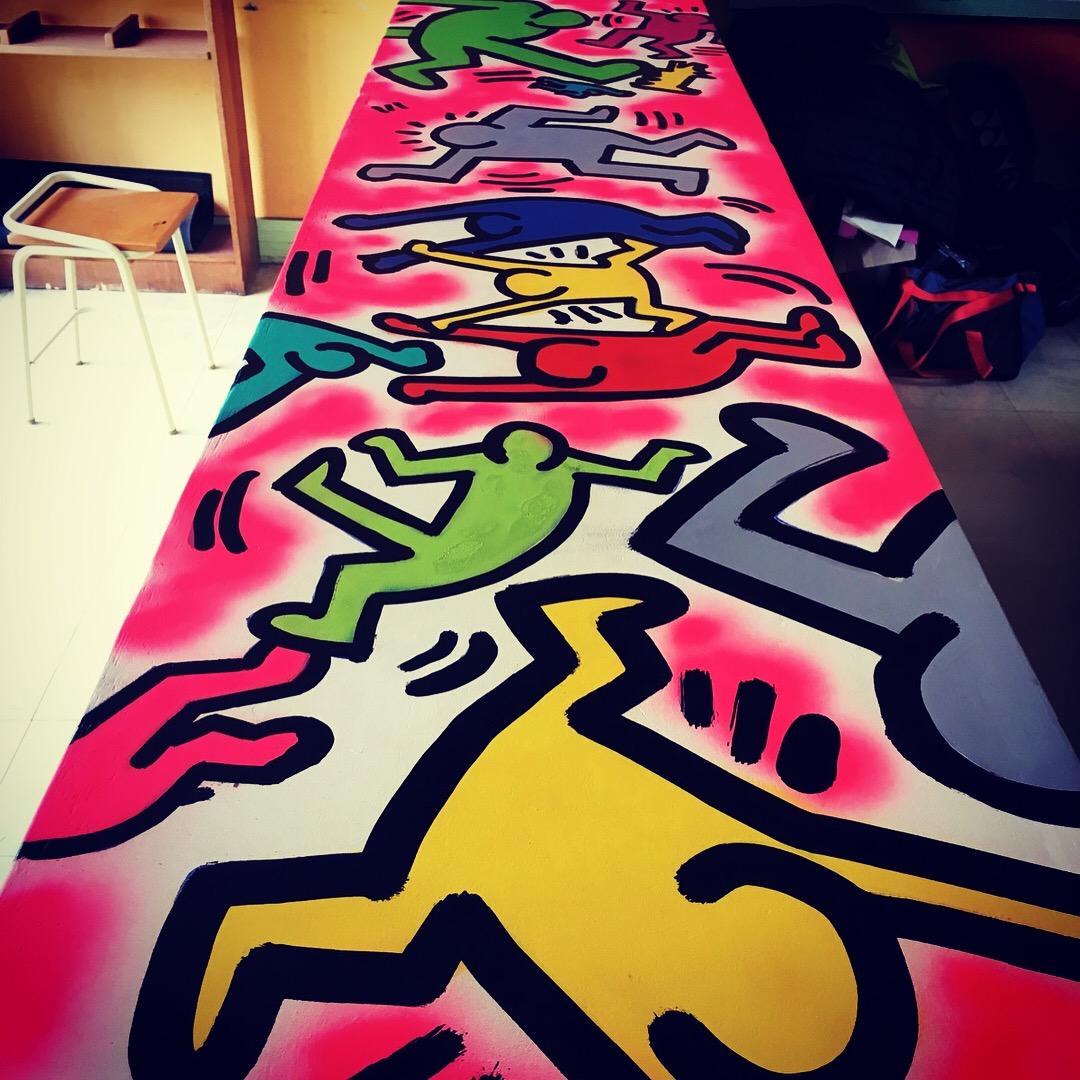 atelier graff en college BVS