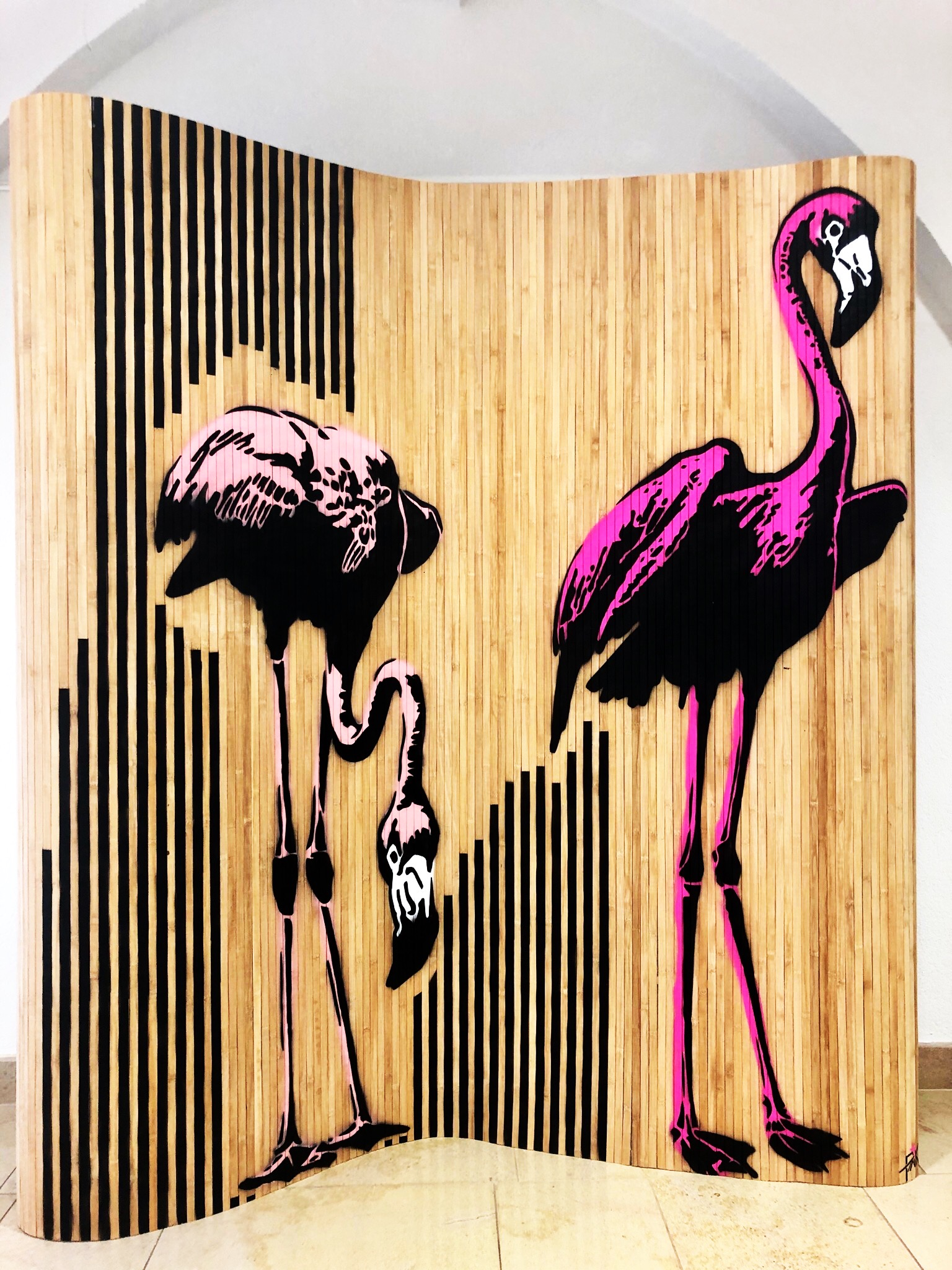 pink flamingo by pinkartroz