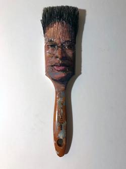 Paintbrush Selfie