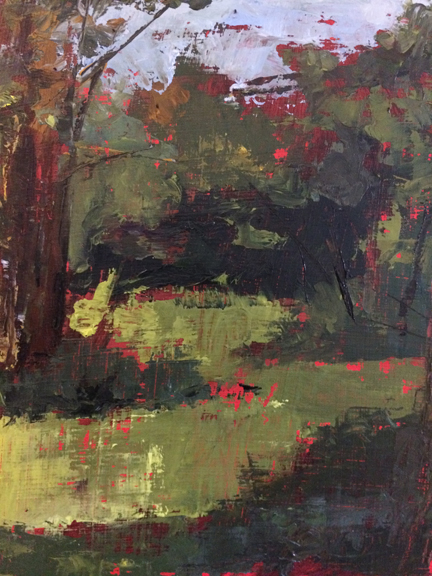 Plein air abstract