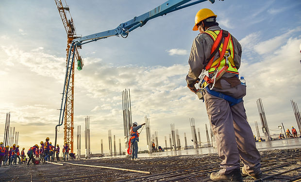 construction stock image workers rebar.j