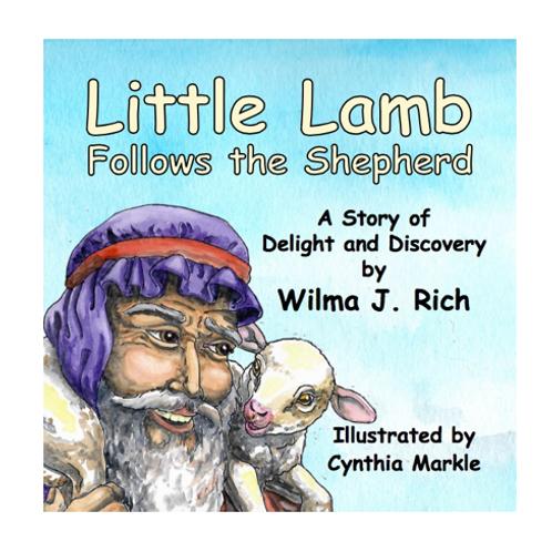 Little Lamb Follows the Shepherd