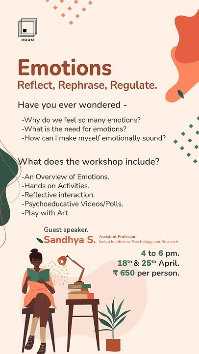 Emotions and Emotional Regulation_POSTER