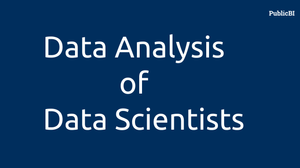 Data Analysis of Data Scientists