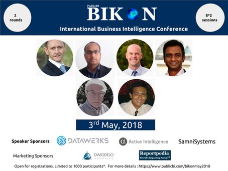PublicBI BIKON on May 3rd, 2018 - Open for registration