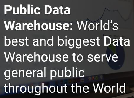 PublicBI will take over Public Data Warehouse project