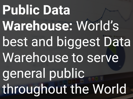 PublicBI will take over Public Data Warehouse project
