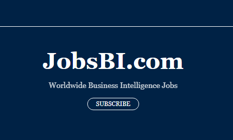 Over 600 BI jobs posted on JobsBI.com