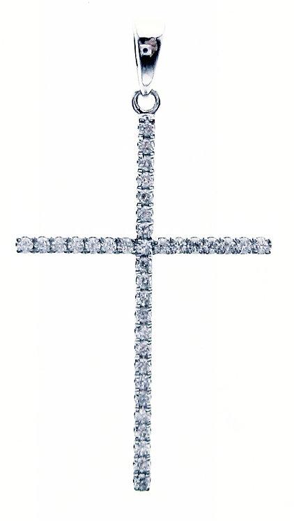 14K WG DIAMOND PENDANT