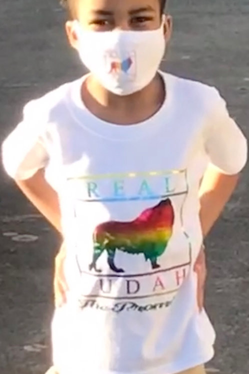 (Children) Real Judah Shirt and matching mask (Promise Edition)