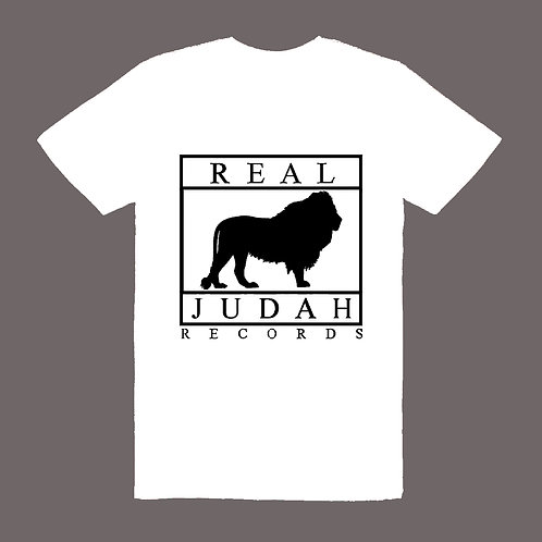 White Real Judah Mens T-Shirt