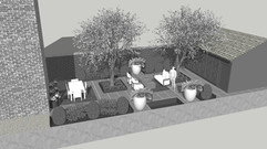 Landscape Design- White Model