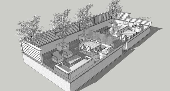 Landscape Design- White Model