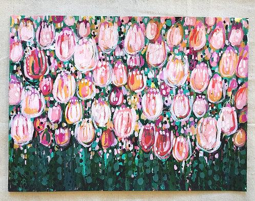 Tulip Field - Original Artwork