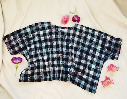 Tie Dye Flannel Top