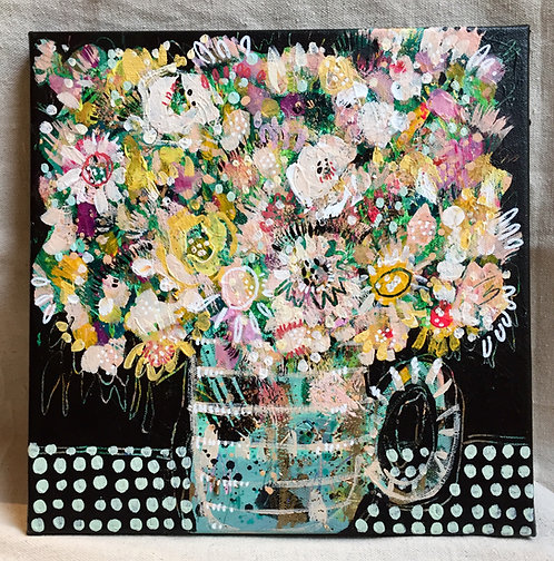 """Abstract Bouquet 12 - 12""""x12"""""""