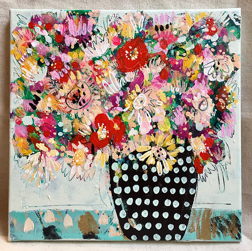 """Abstract Bouquet 11 - 12""""x12"""""""