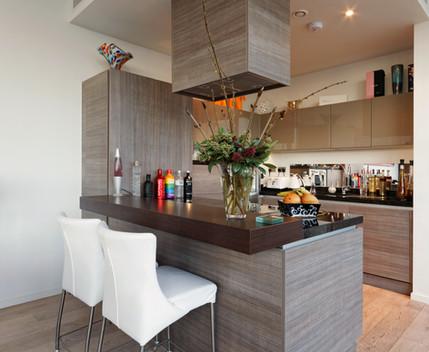 small modern kitchen