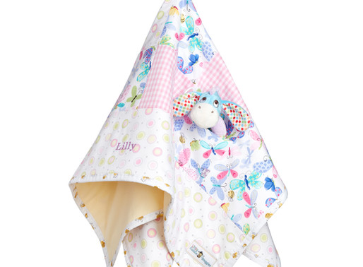 Win a Little Cuddle Snuggles Personalised Baby Blanket by Entering Our Competition!